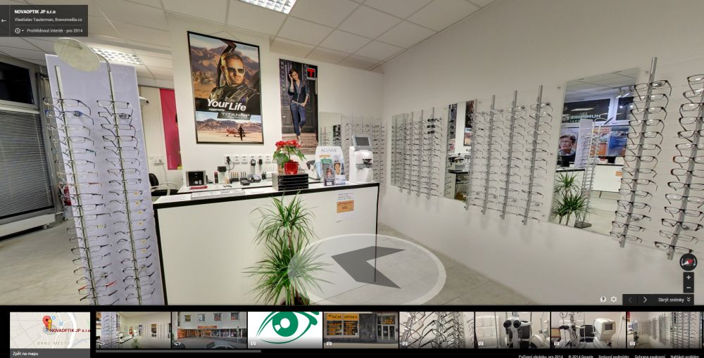 NovaOptik - Google Business View